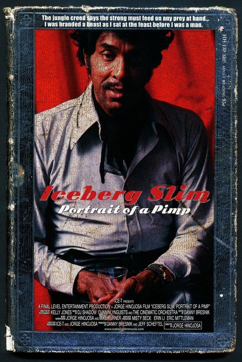 Iceberg slim portrait of a pimp - film poster