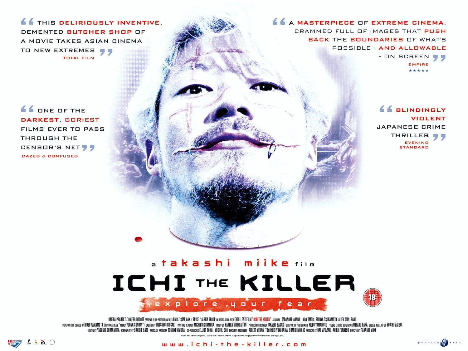 Ichi the Killer - Koroshiya one - film killer poster