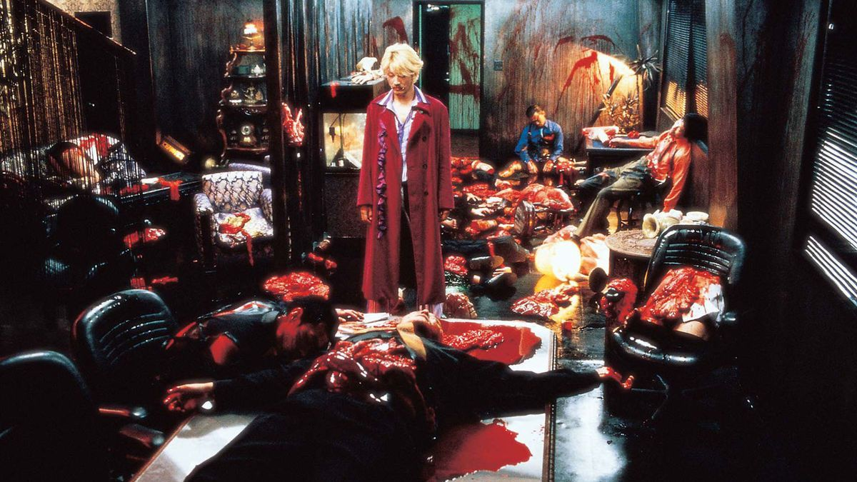 Ichi the Killer - Koroshiya one by Takashi Miike - live action scene restaurant killer
