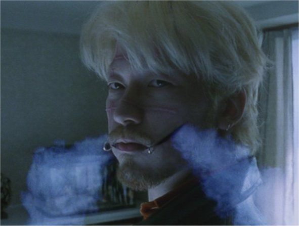 Ichi the Killer - Koroshiya one by Takashi Miike - film poster live action scene smoke