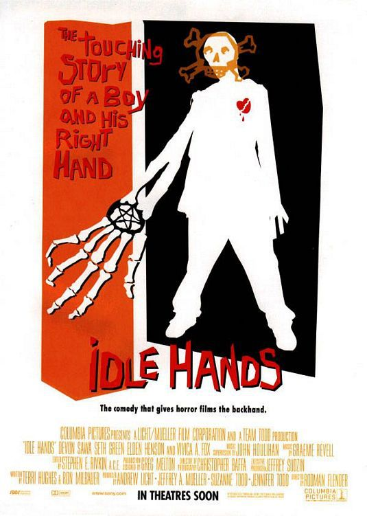 Idle hands - film poster