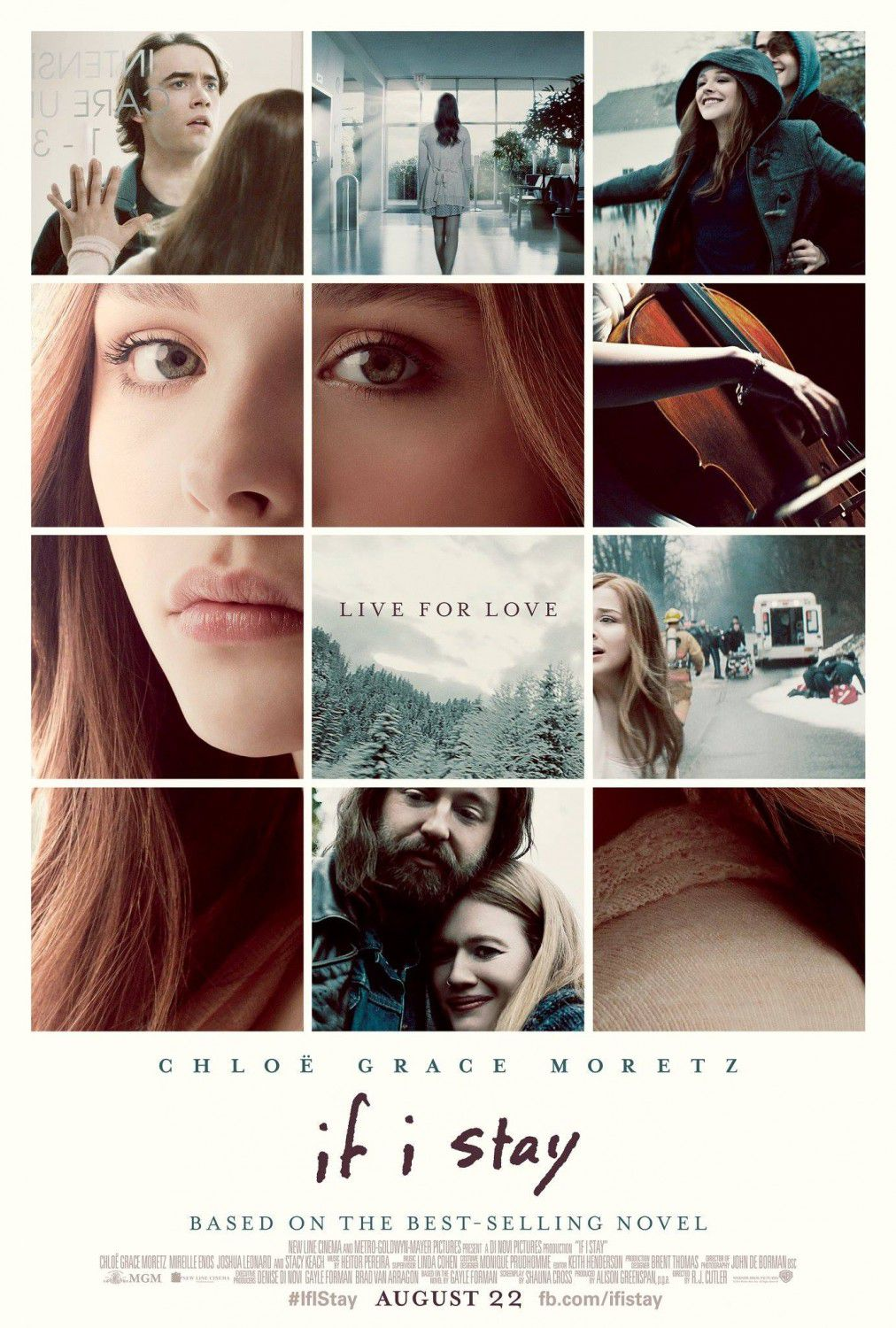 If I Stay - film poster