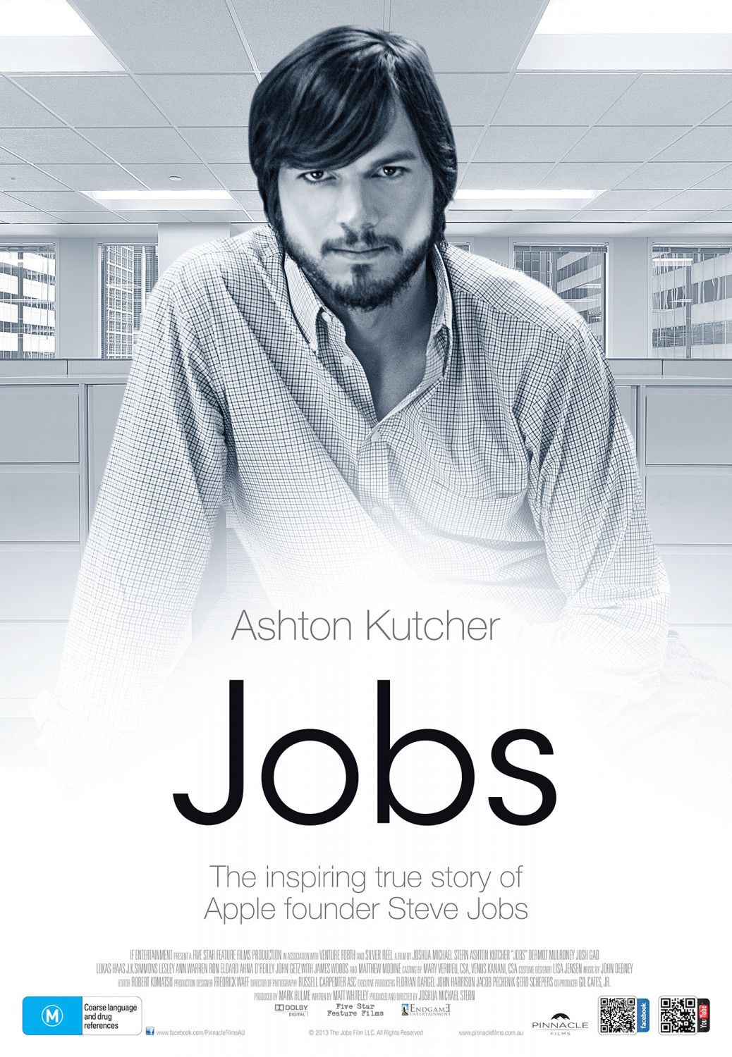Jobs by Joshua Michael Stern - film poster 2013