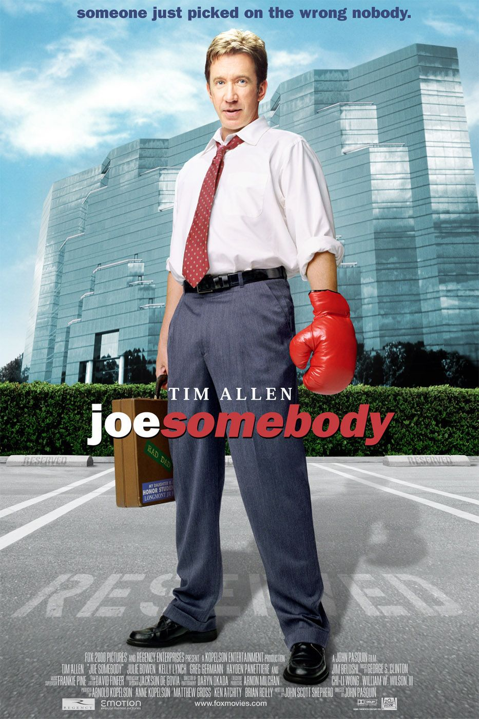 Joe Somebody - comedy film poster life
