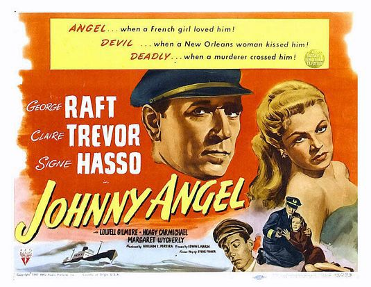 Johnny Angel (1945) - poster