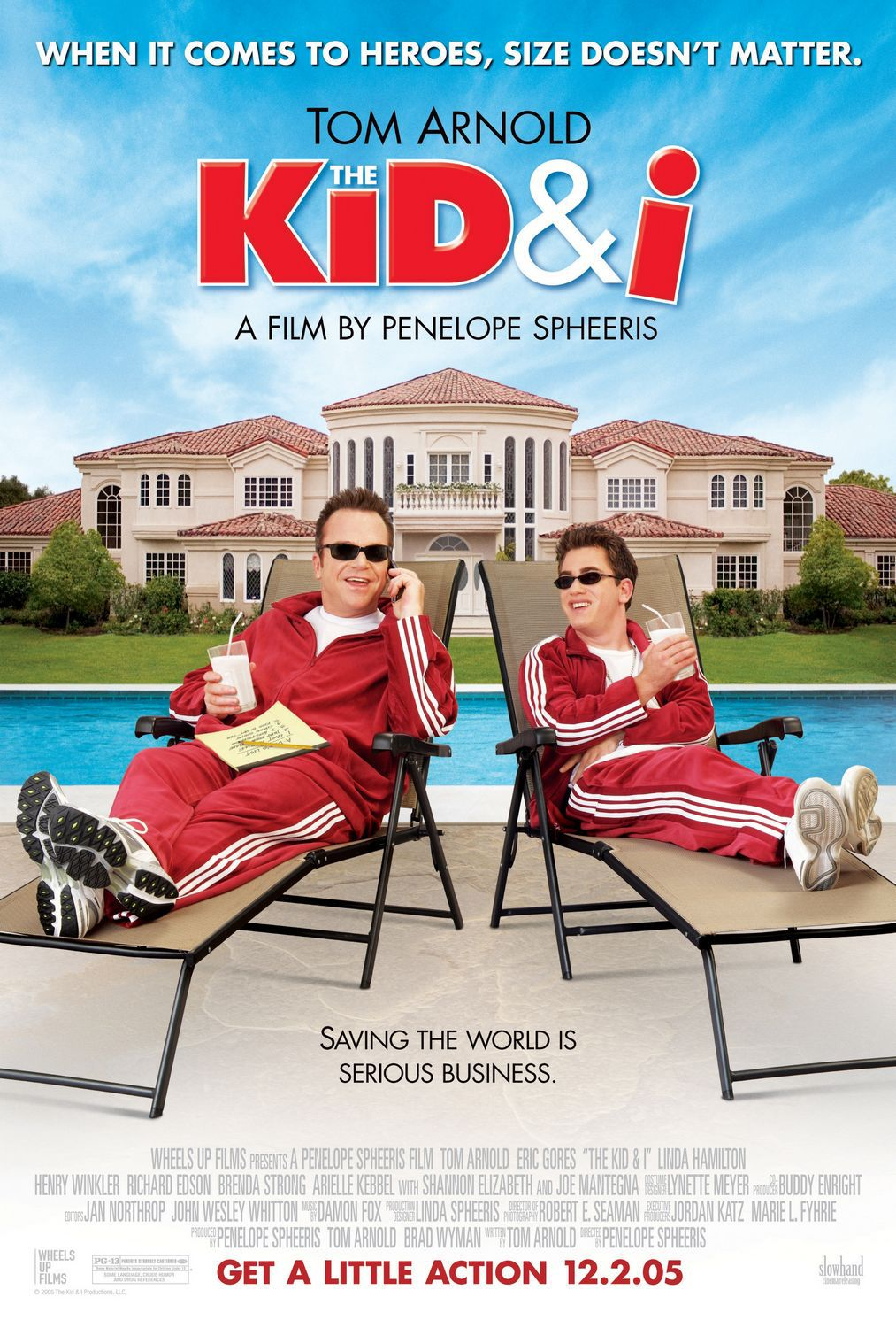 Kid and I - film comedy poster