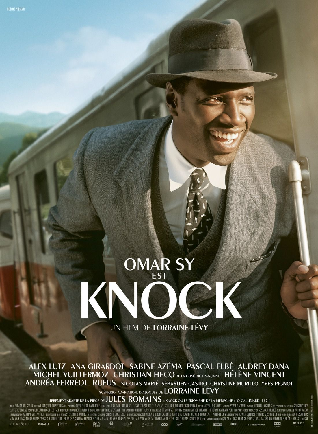 Knock - film poster - Omar Sy