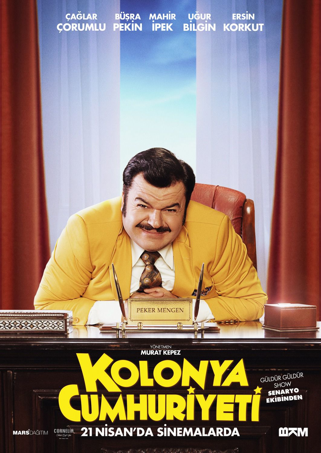 Kolonya Cumhuriyeti - Repubblica di Colonia - Republic of Cologne - film poster