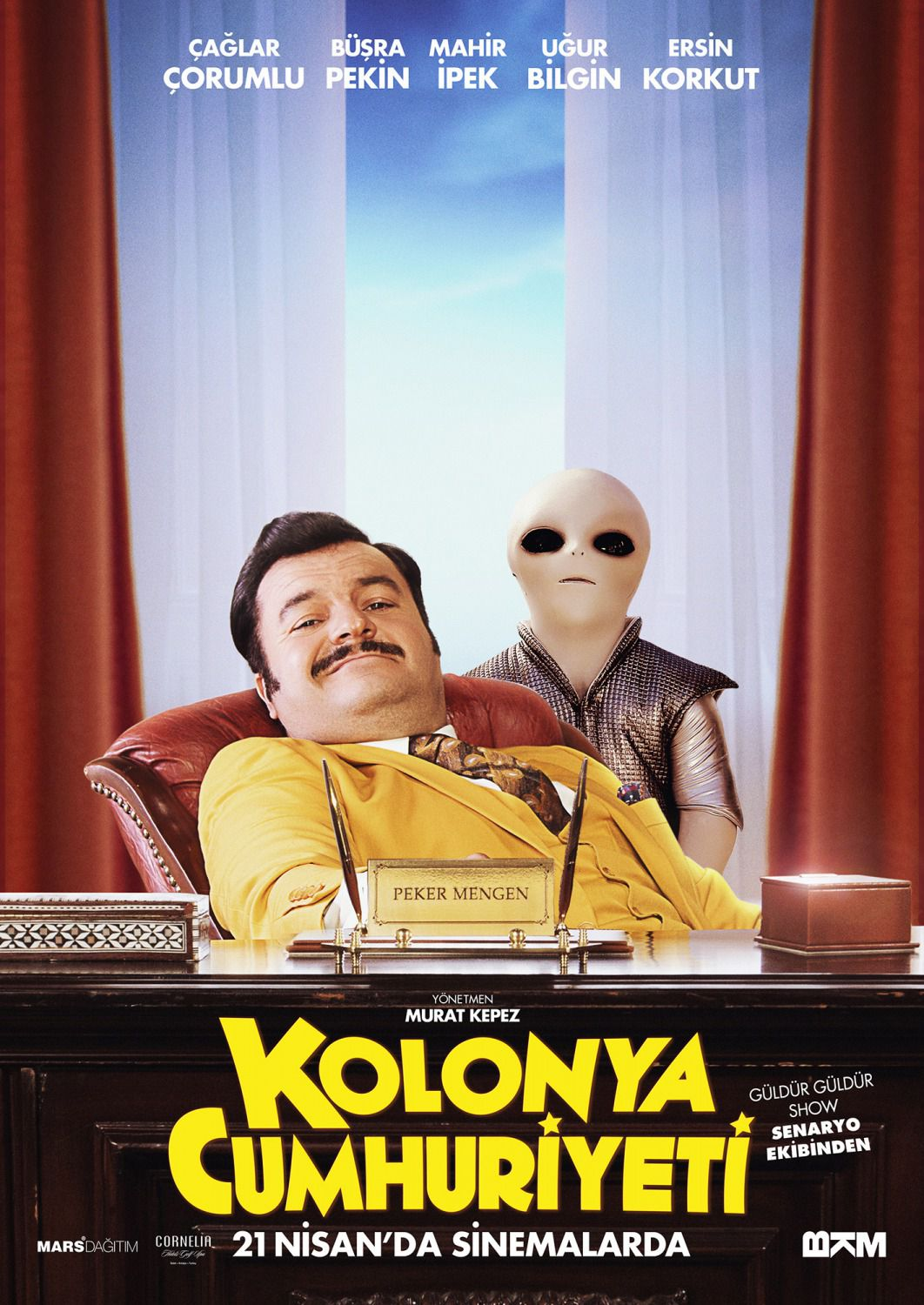 Kolonya Cumhuriyeti - Repubblica di Colonia - Republic of Cologne - alien film poster