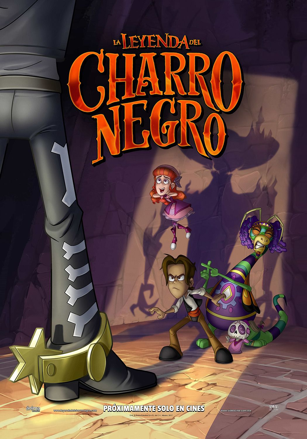 The Legend of the Black Knight - La Leyenda del Charro Negro - La Leggenda del Cavaliere Nero