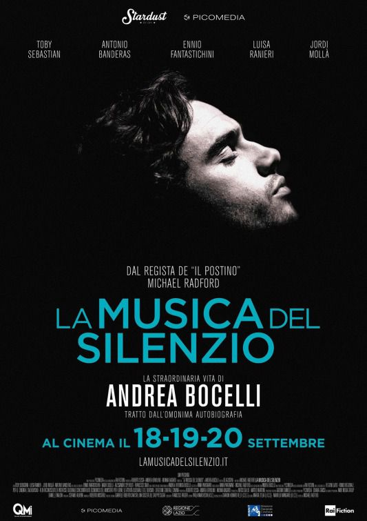 The Music of Silence - La Musica del Silenzio by Michael Radford ... la vita di Bocelli