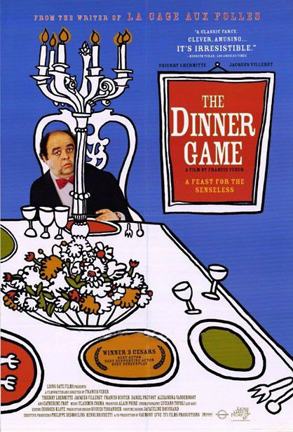 La cena dei cretini - Le Diner de Cons - Dinner Game - Original French Film 1998