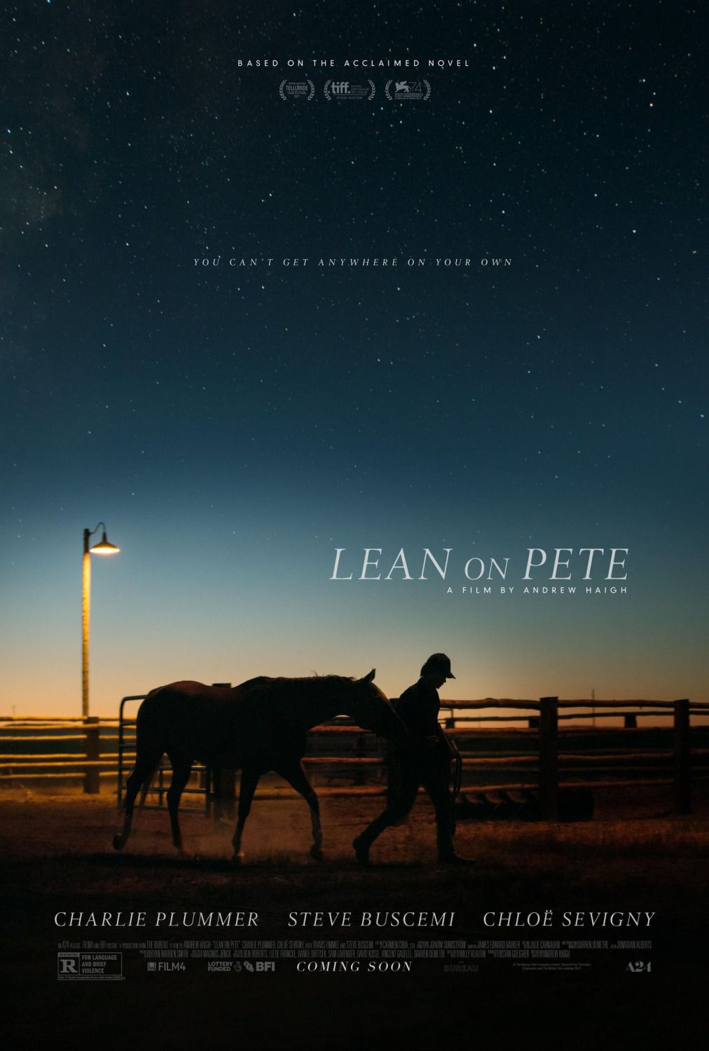 Lean on Pete - film poster