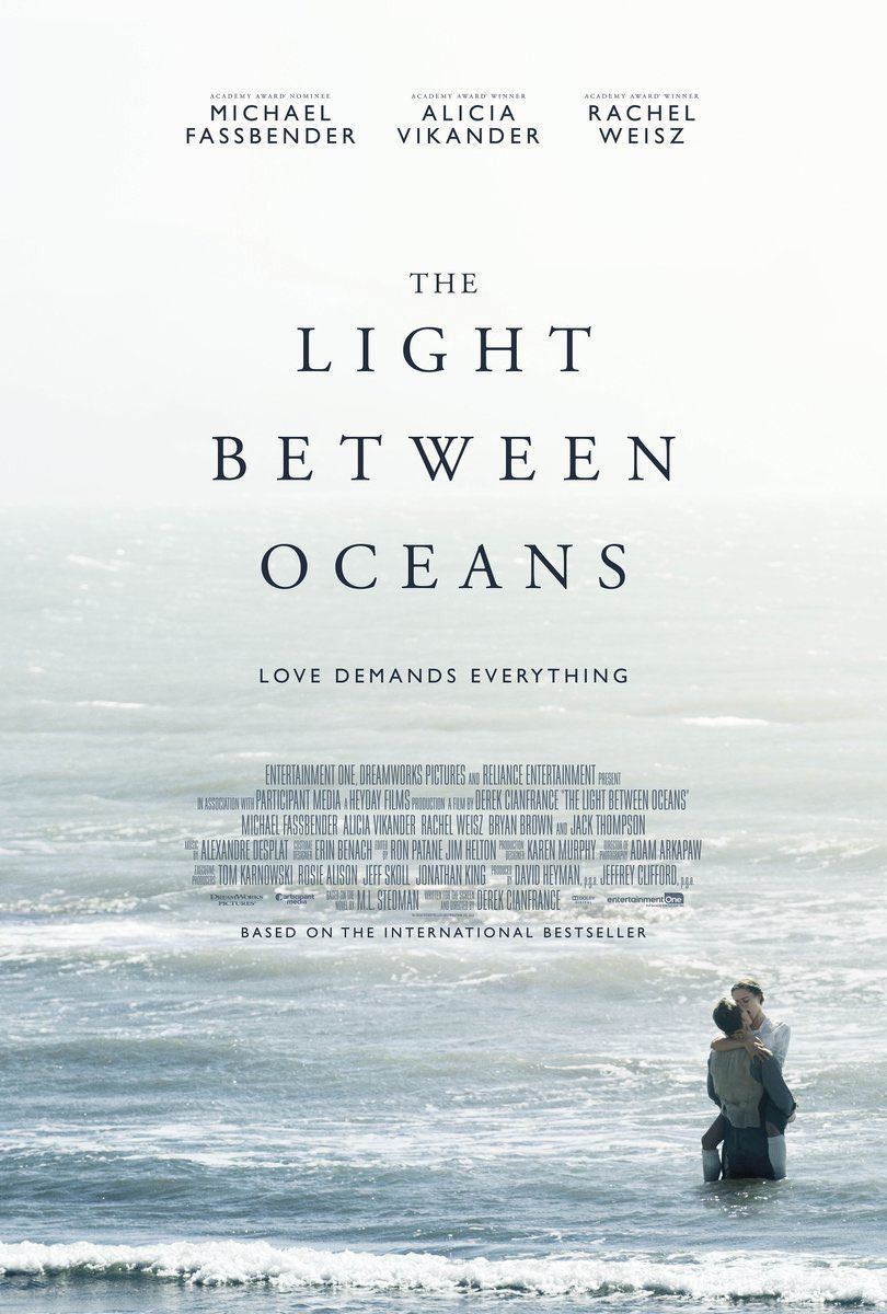 Light between Oceans - Michael Fassbender, Alicia Vikander, Rachel Weisz