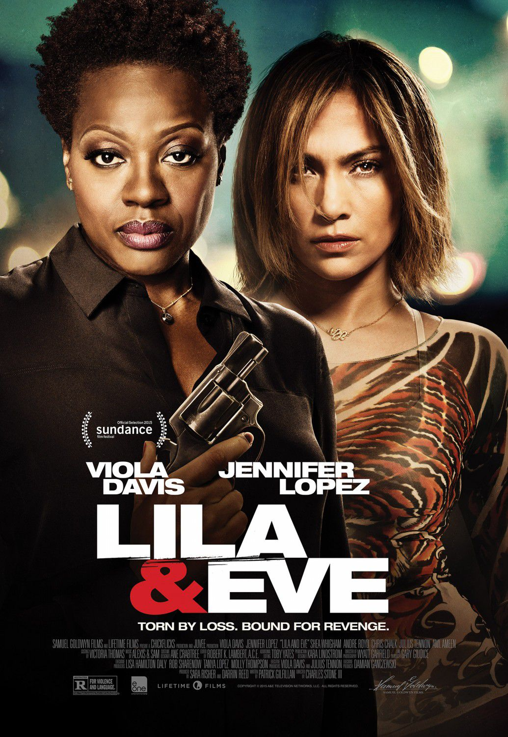 Lila and Eve - film poster