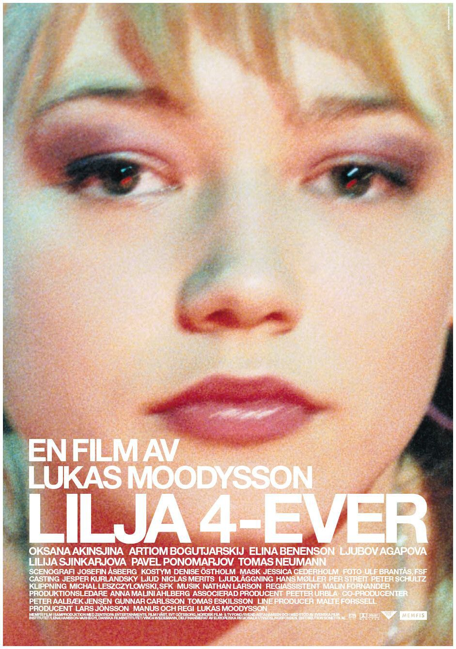 Lilya four ever - film poster