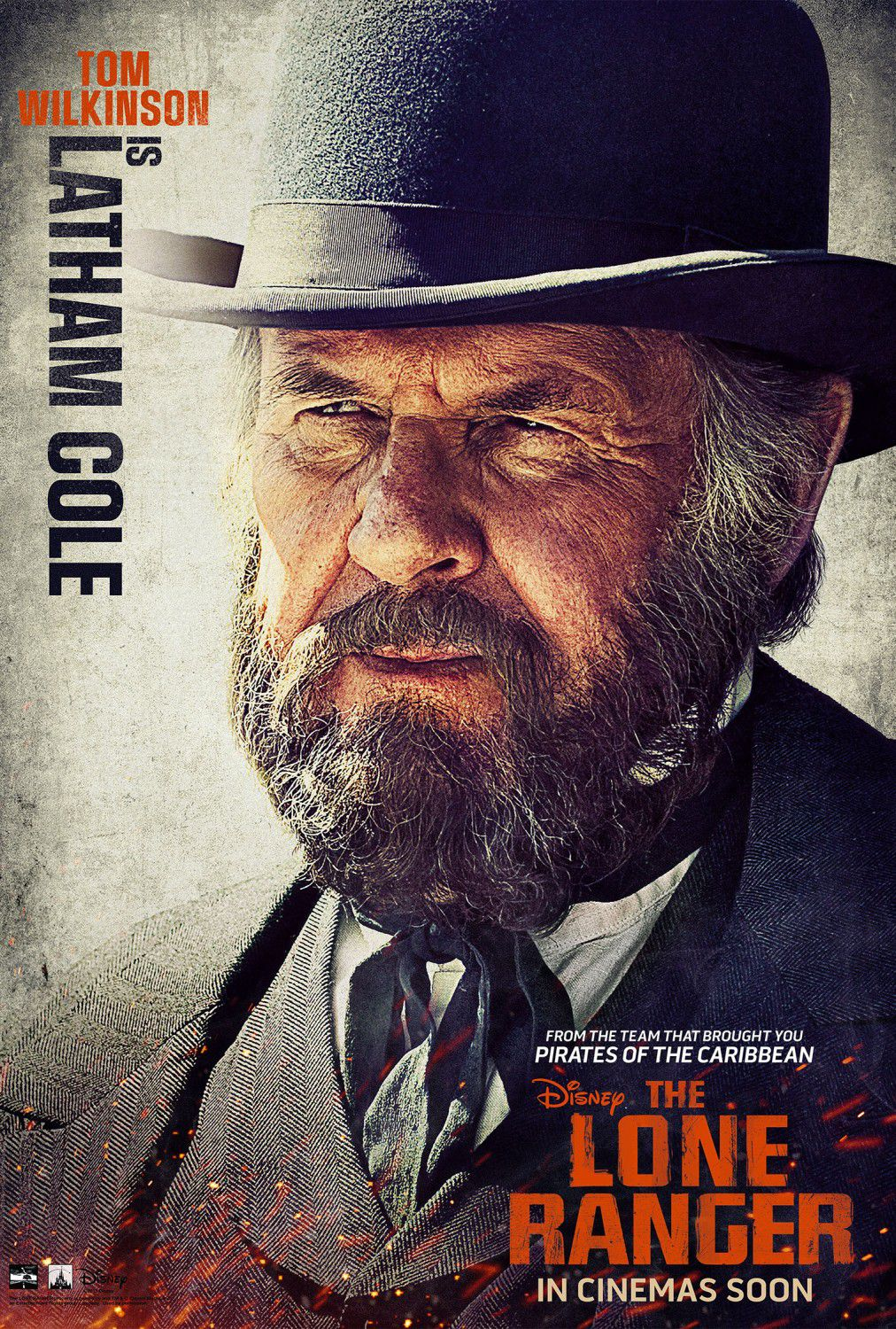 Tom Wilkinson as Latham Cole