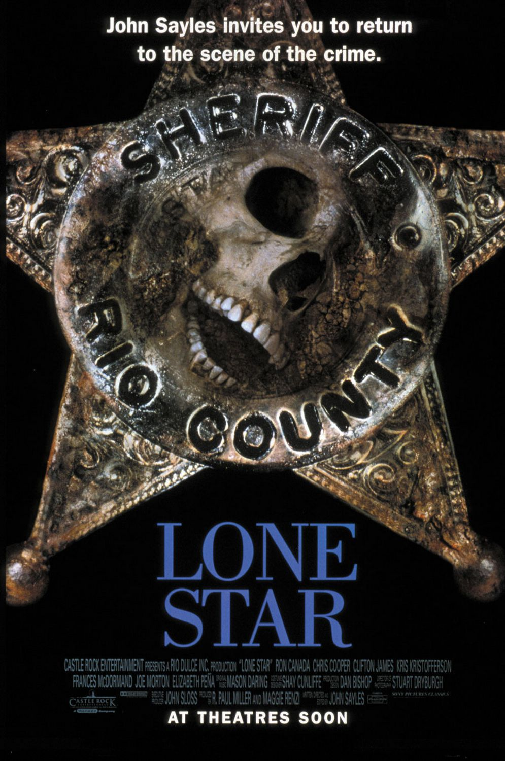 Lone Star (1996) by John Sayles - Cast: Matthew McConaughey - film poster