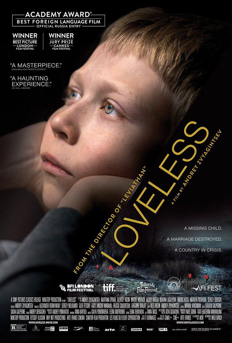 Loveless - Nelyubov - drama film poster
