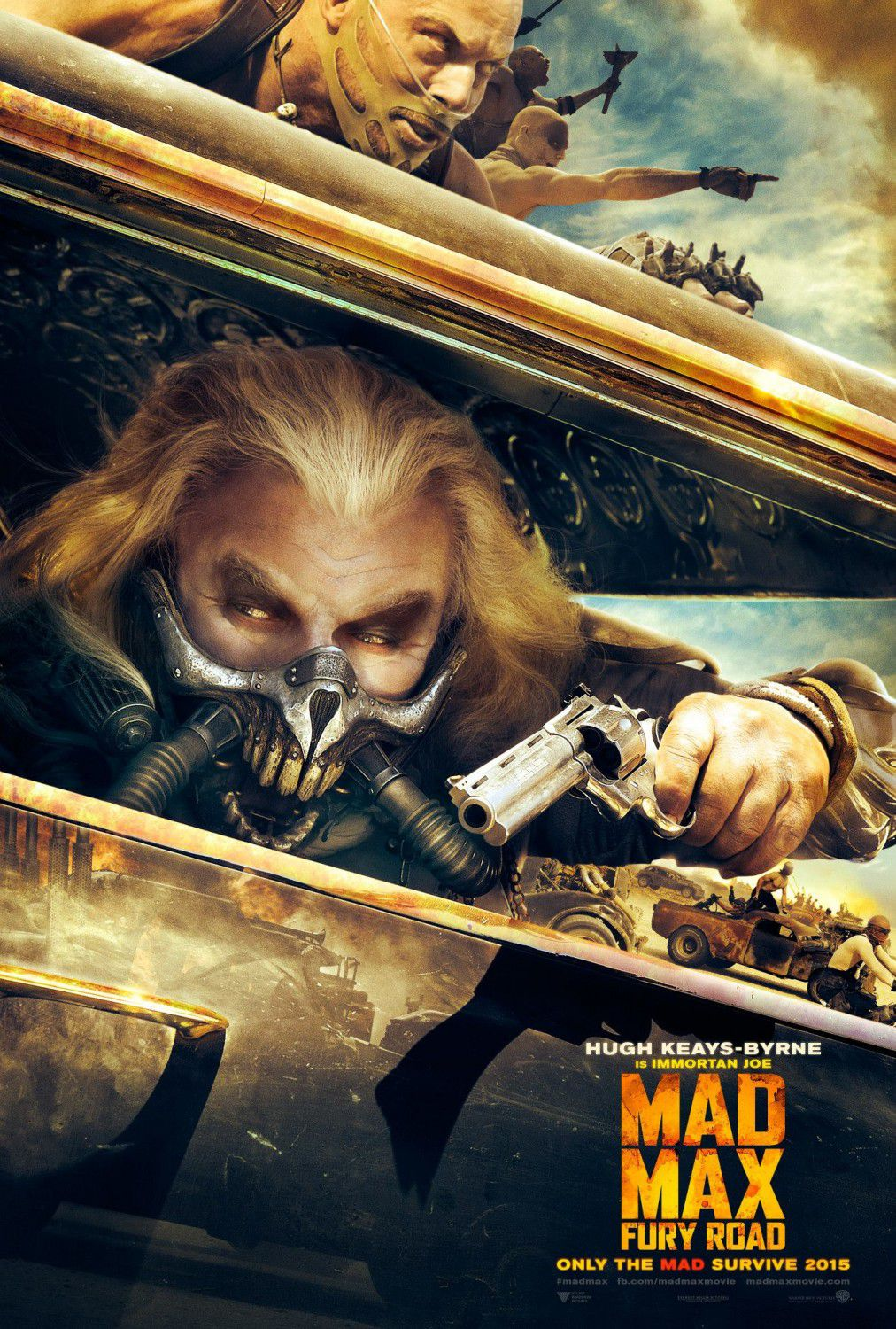 Hugh Keays-Byrne is Immortan Joe