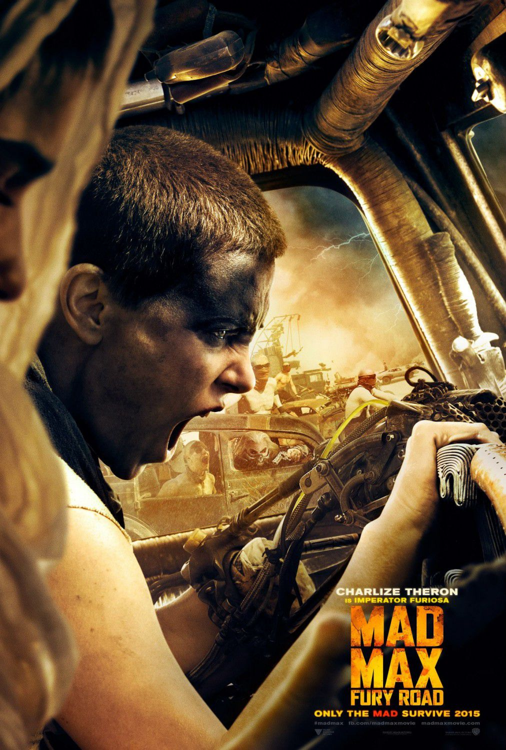 Charlize Theron is Imperador Furiosa