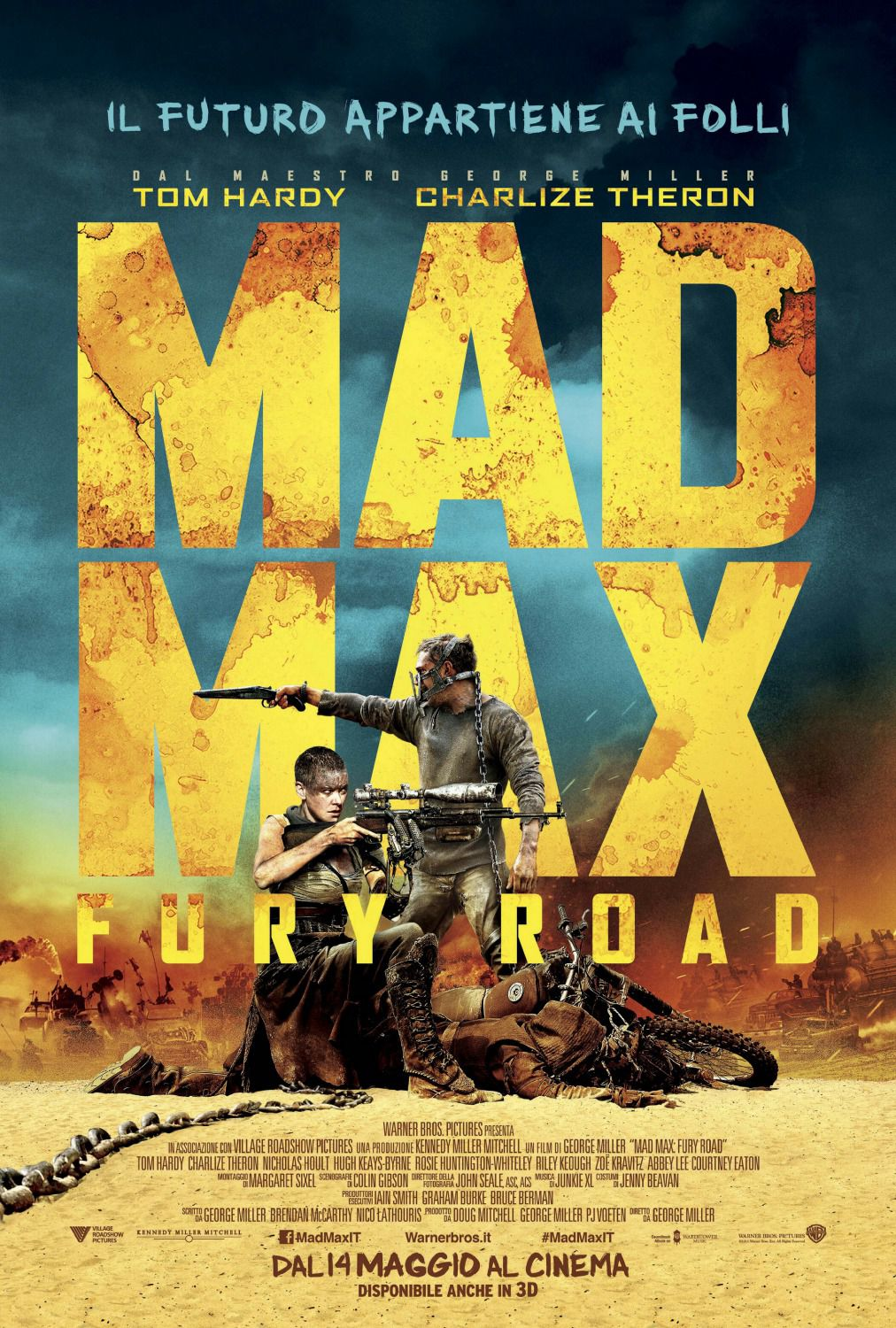 Mad Max - chains and desert