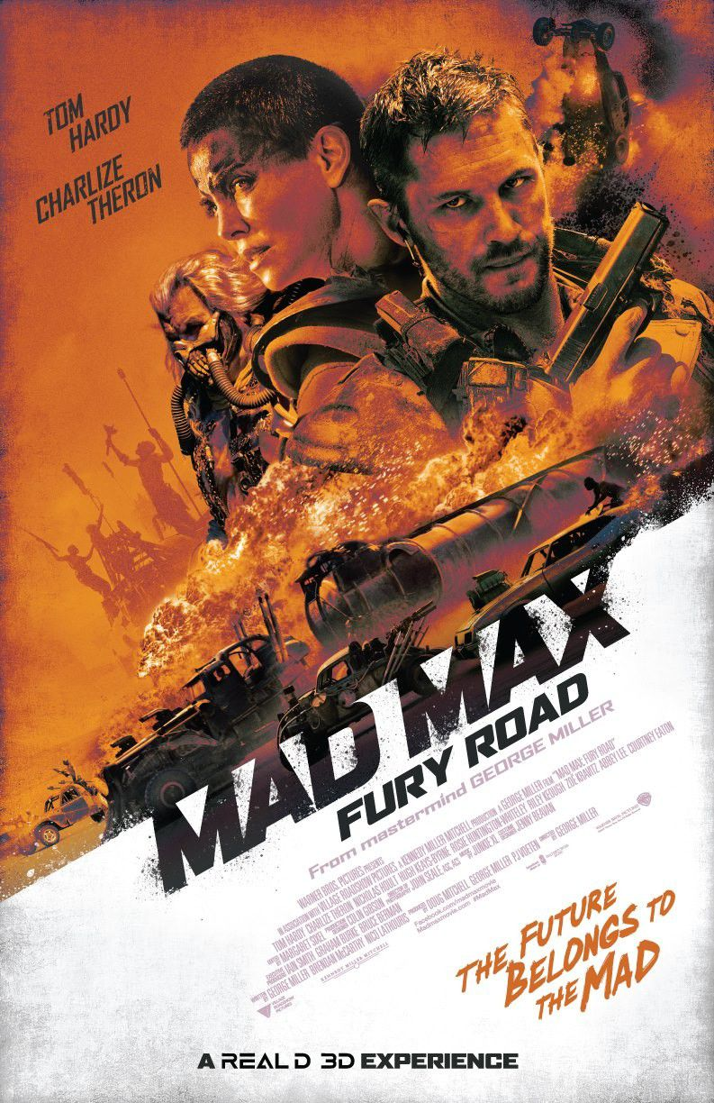 Mad Max Fury Road - poster
