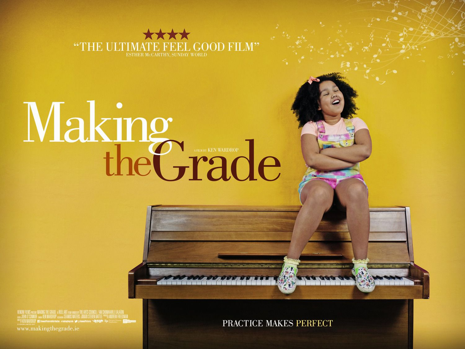 Making the Grade - Practice makes Perfect - comedy film poster