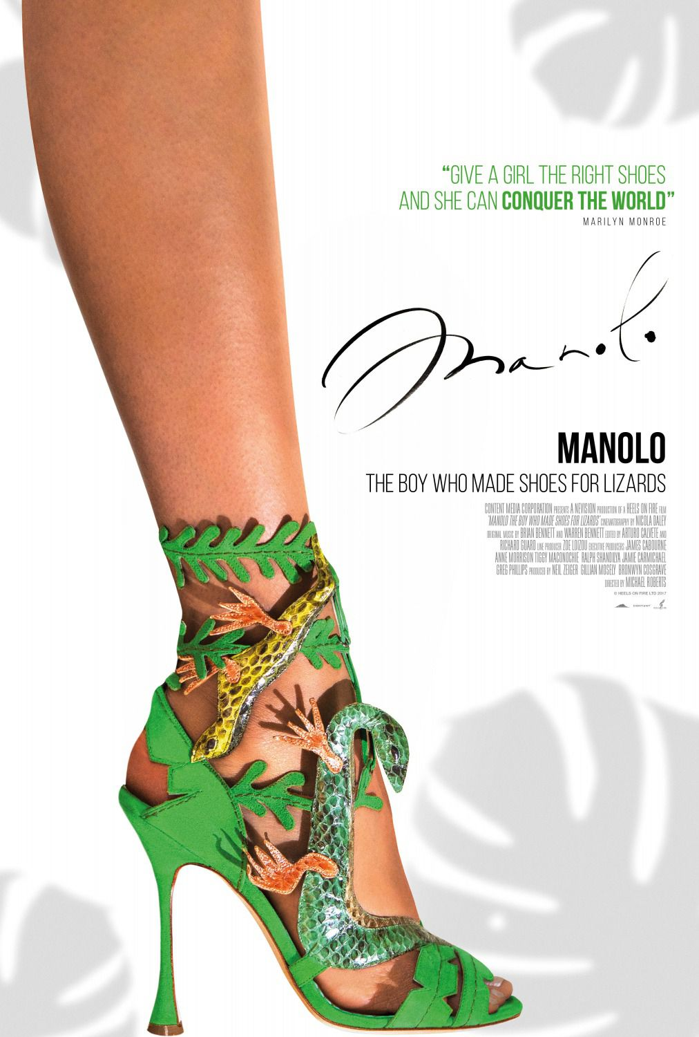 Manolo the Boy who made Shoes for Lizards - film poster