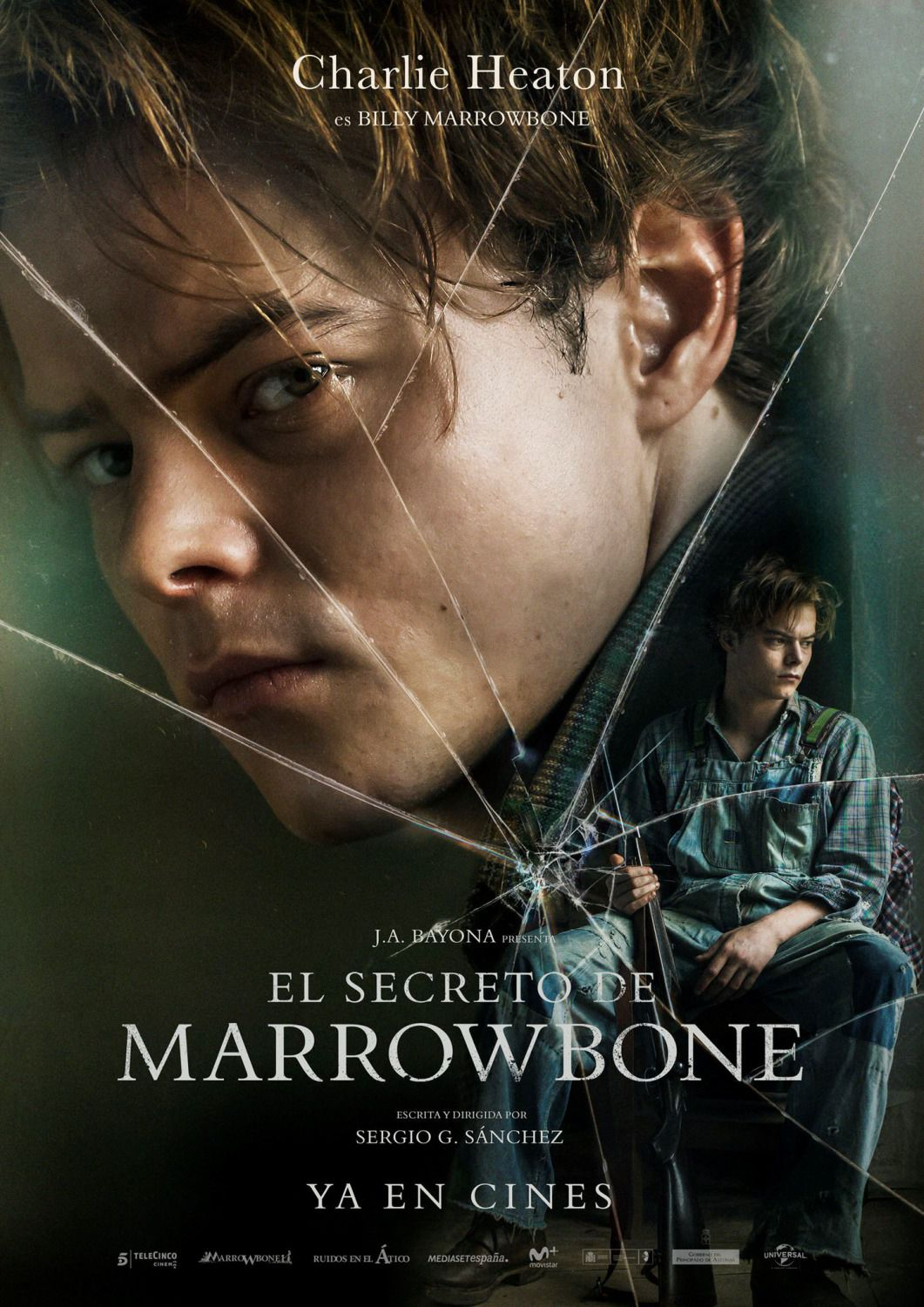 Charlie Heaton is Billy Marrowbone
