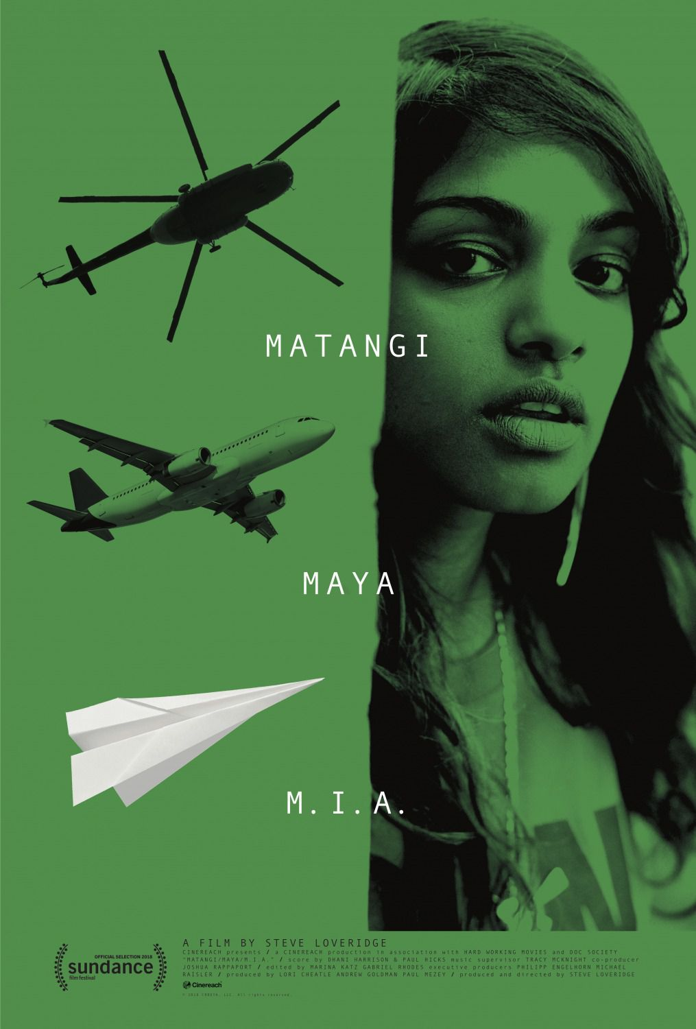 Matangi Maya MIA by Steve Loveridge - film poster