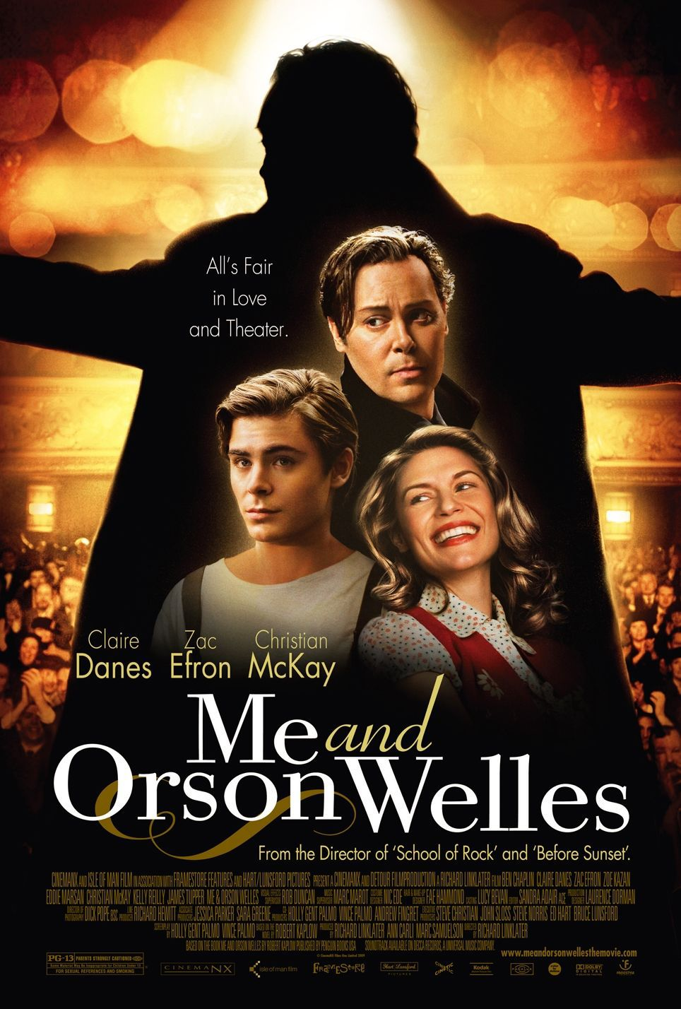Me and Orson Welles - film poster