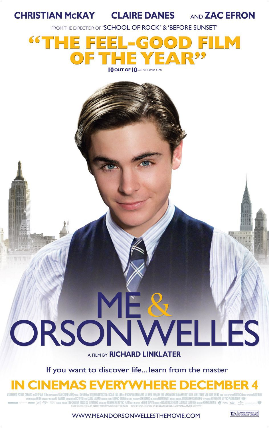 Me and Orson Welles - Zac Efron