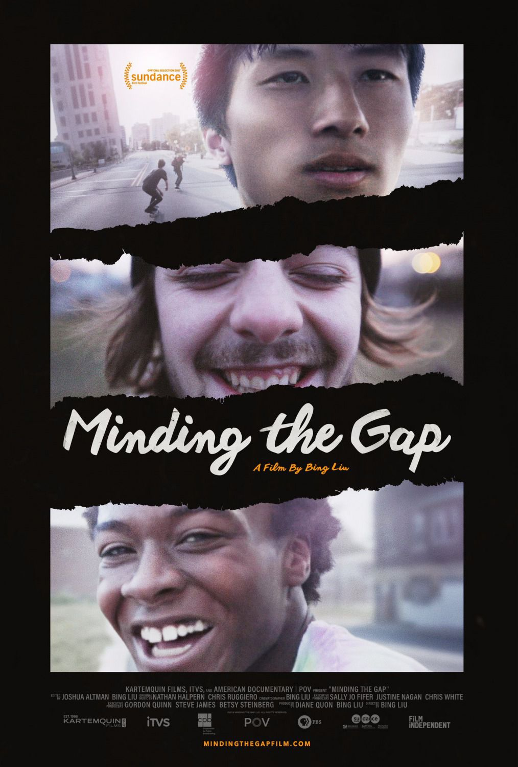 Minding the Gap by Bing Lim - film poster