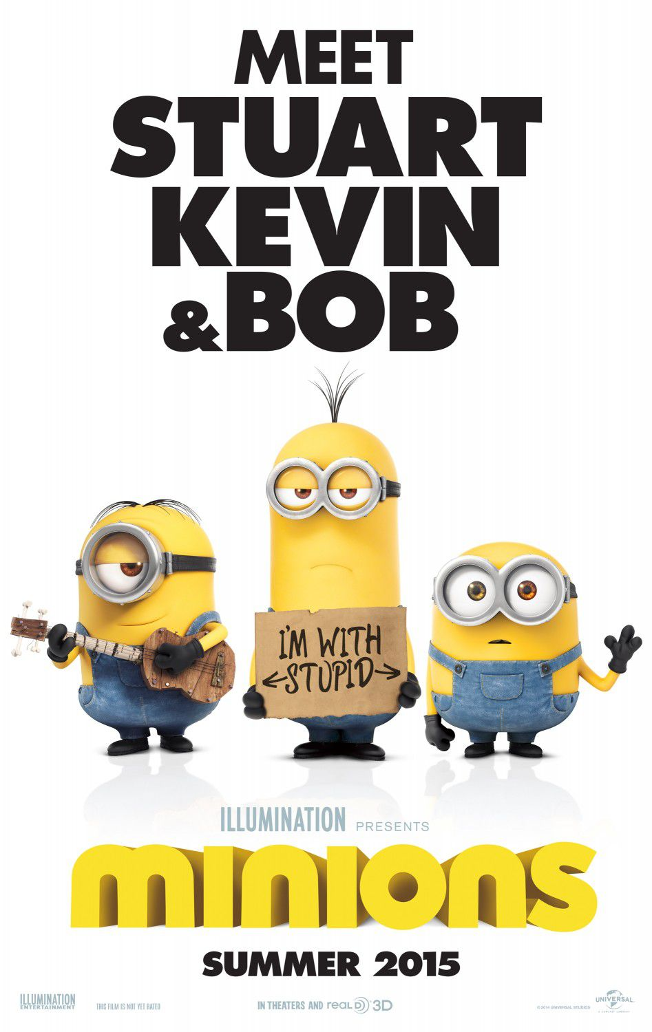 Minions ... meet Stuart, Kevin and Bob