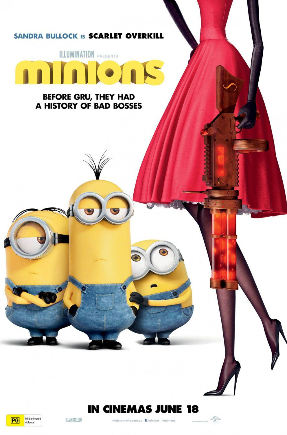 Minions ... in  Cattivissimo Me 3 - Despicable Me 3