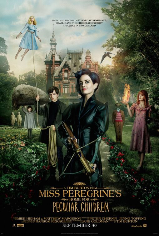 Miss Peregrines home for peculiar children - casa per ragazzi speciali