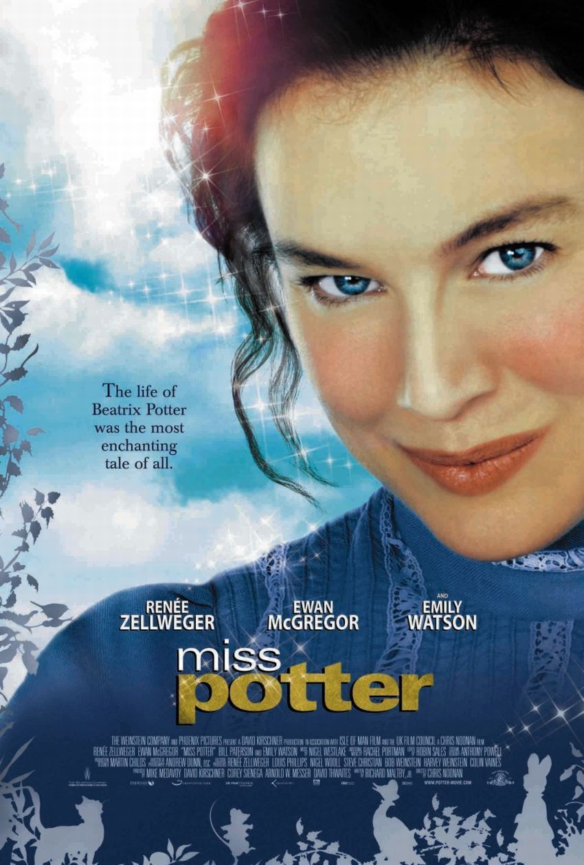 Miss Potter film poster - Emily Watson