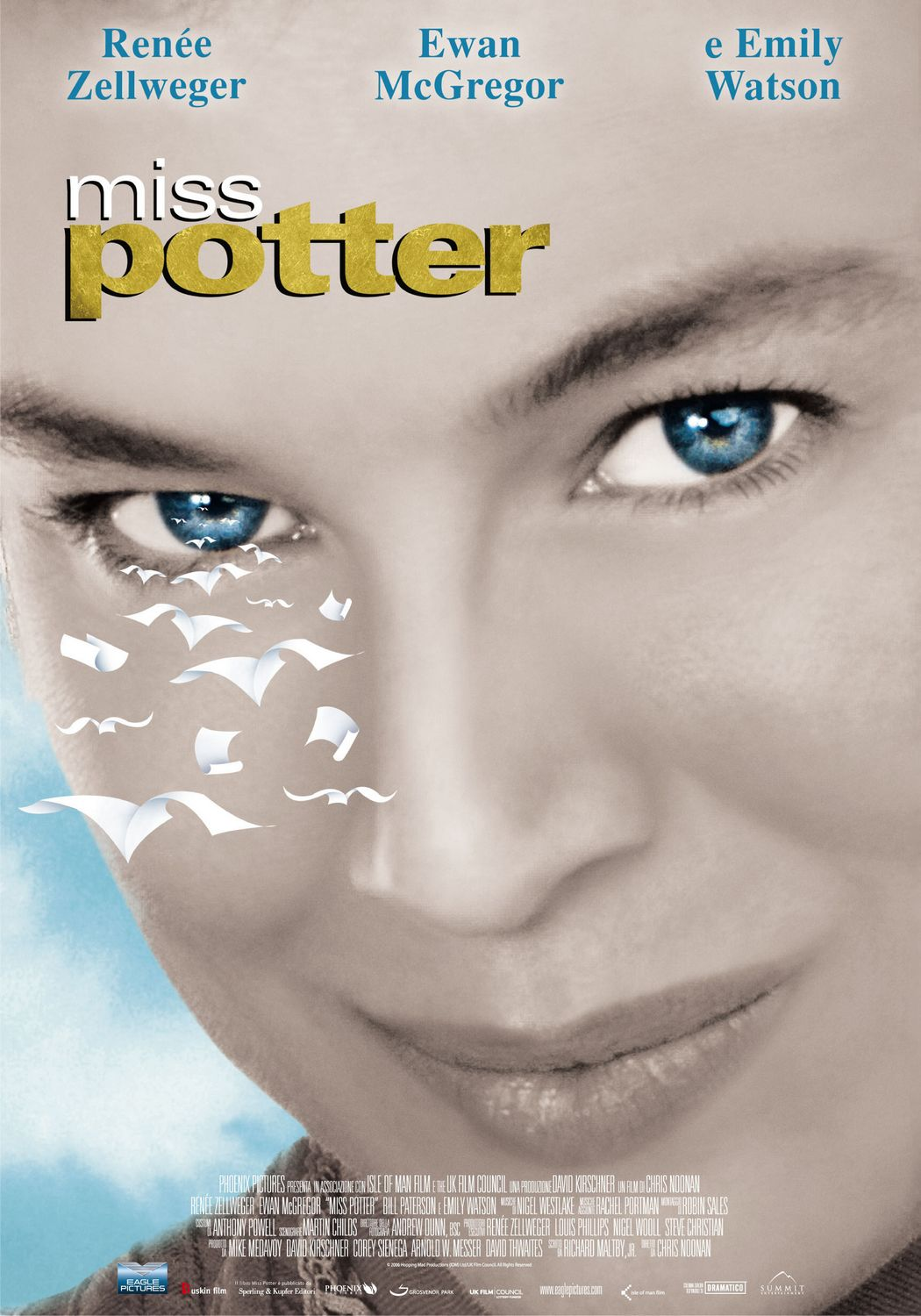 Miss Potter film poster