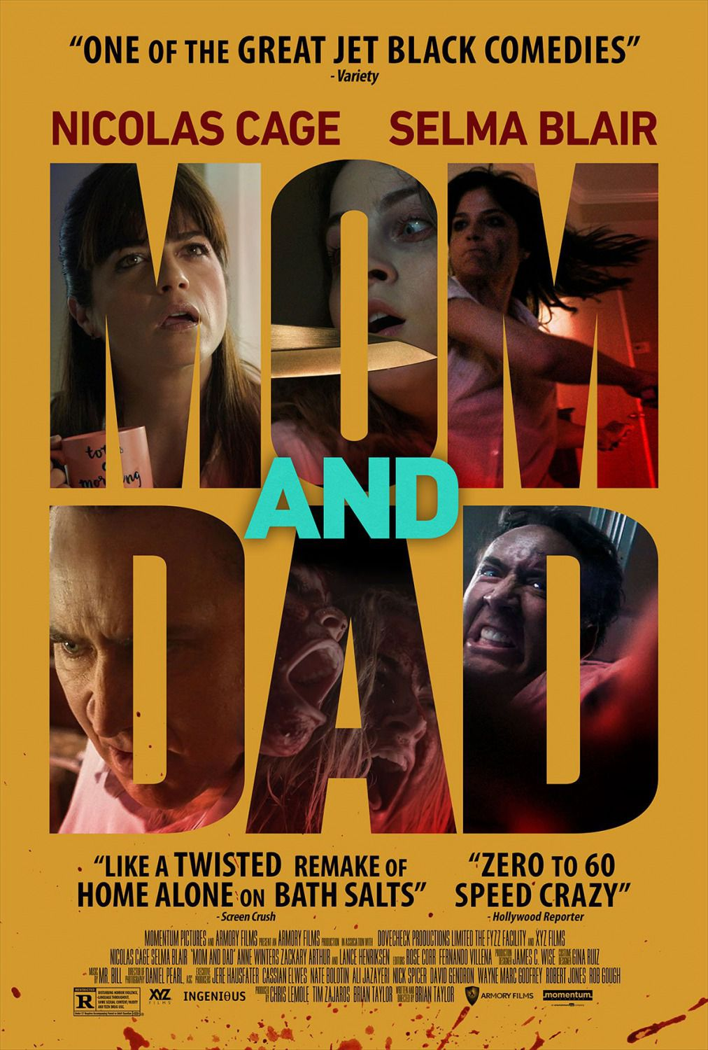 Mom and Dad - Nicolas Cage, Selma Blair - film poster