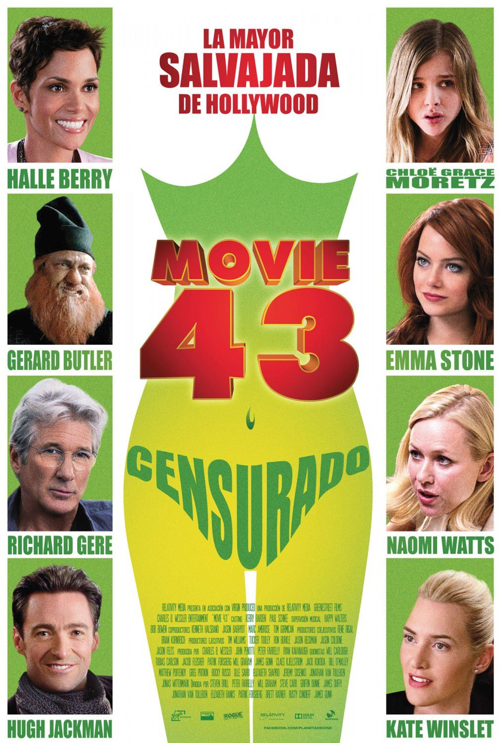 Movie 43 - comedy film poster