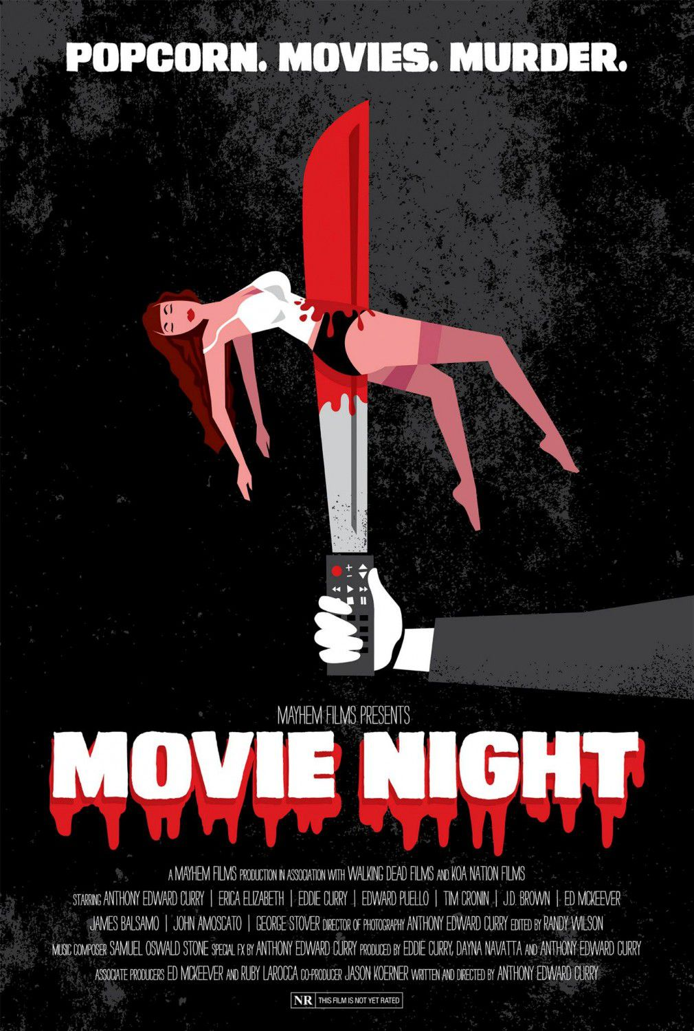 Movie Night - thriller film poster