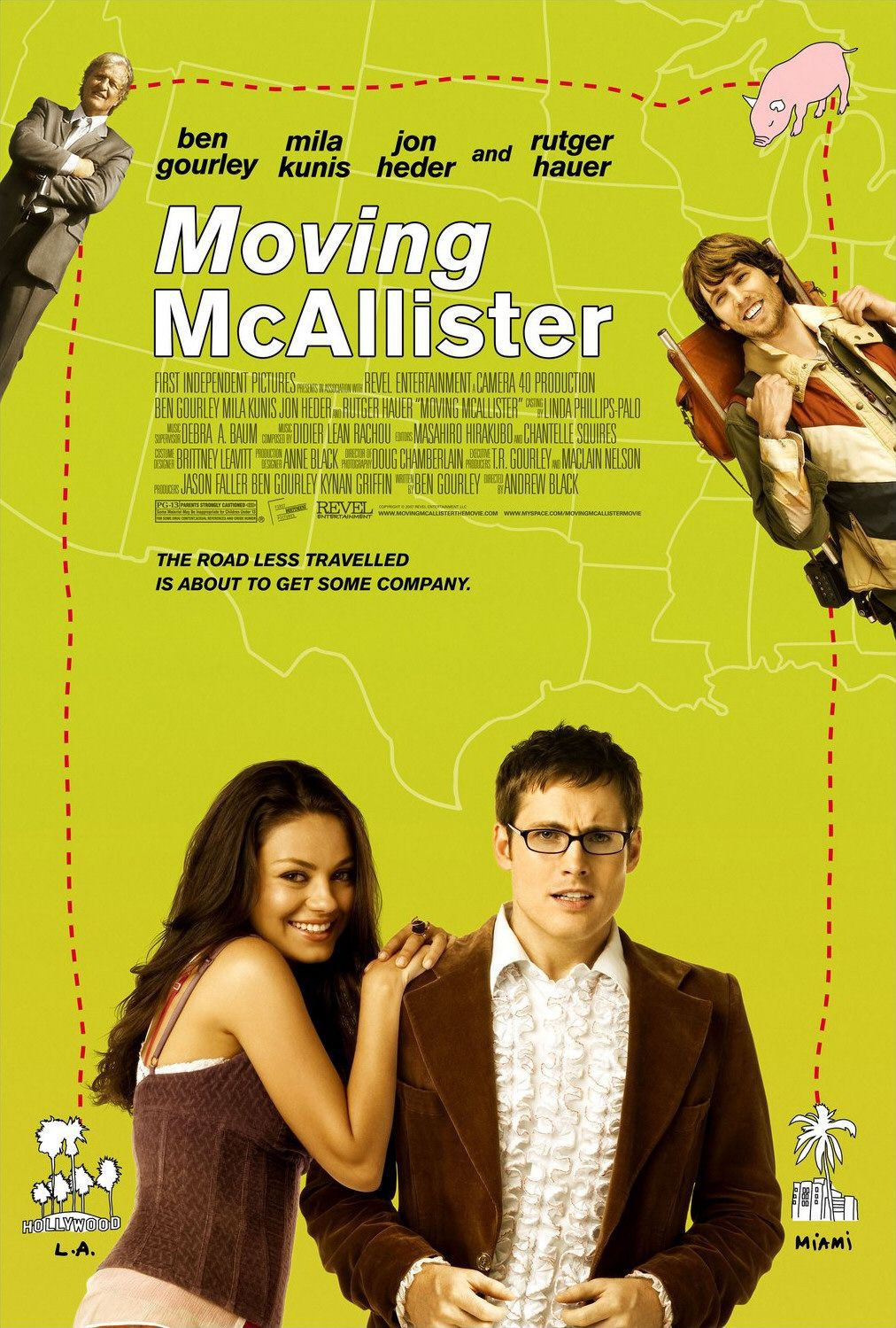 Moving McAllister - film poster