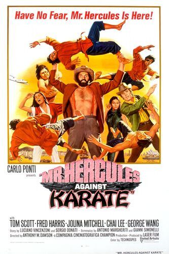 Mr Hercules against Karate