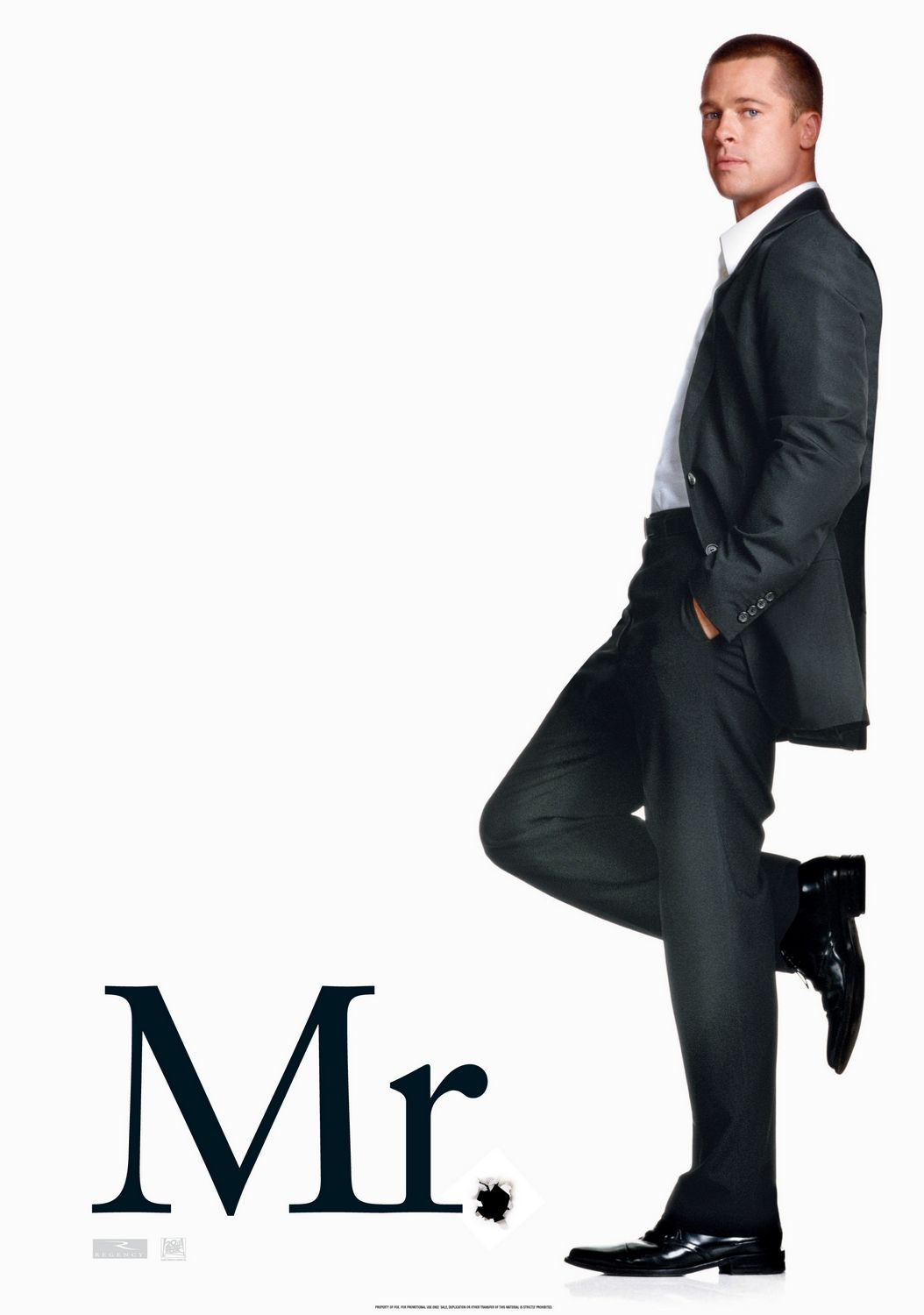 Mr Smith - Spy film poster