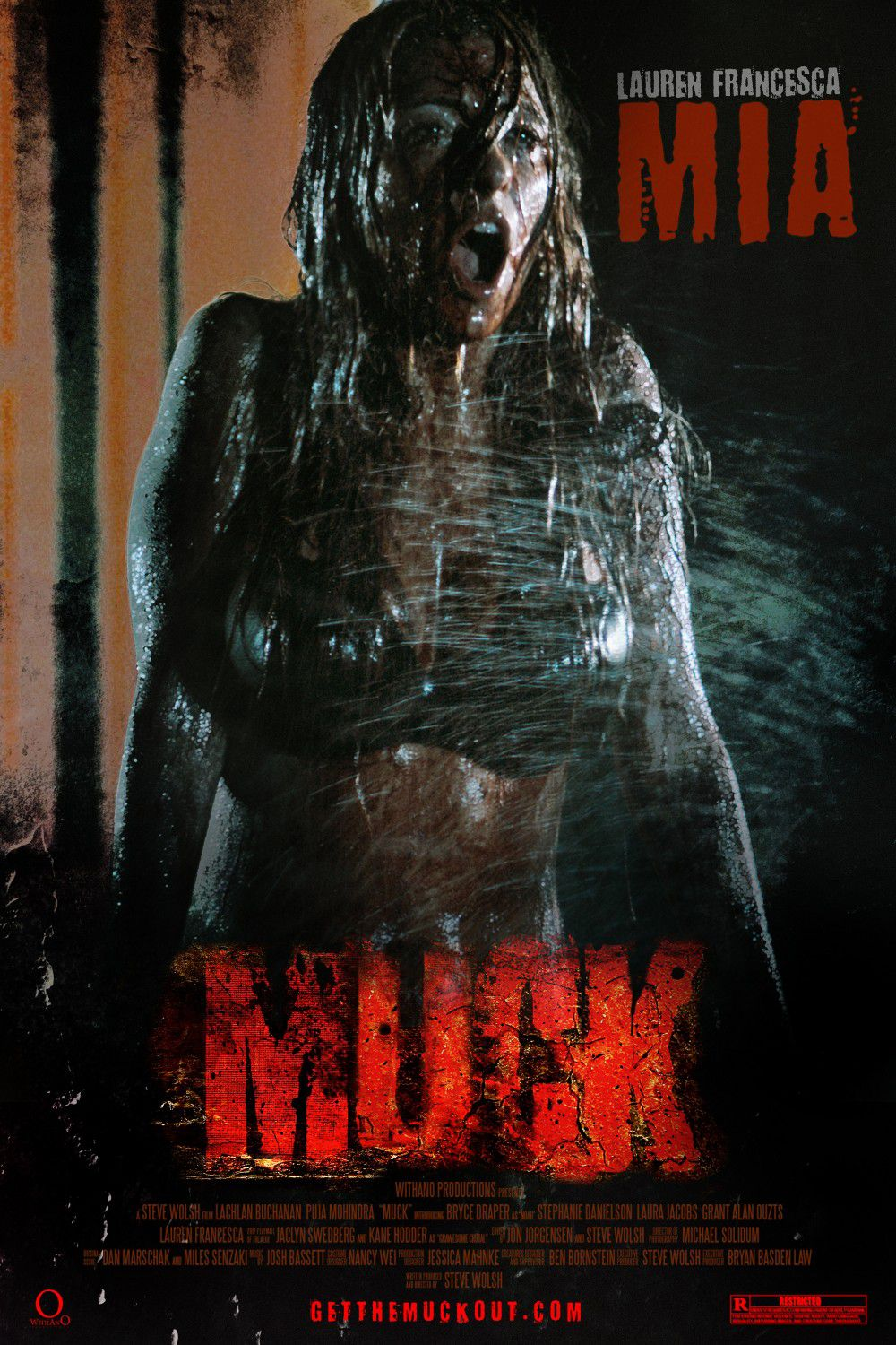 Muck - horror film - Lauren Francesca is Mia