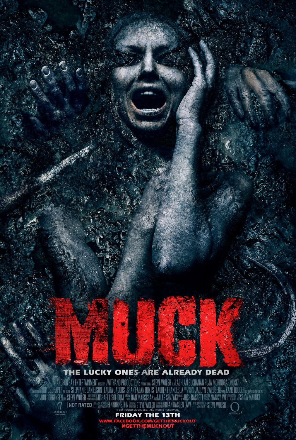 Muck - horror film poster