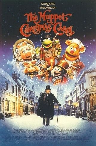 Muppets - Christmas Carol poster