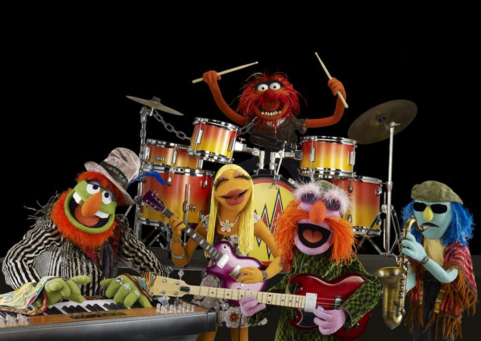 Muppets - Dr. Teeth Animal and The Electric Mayhem band
