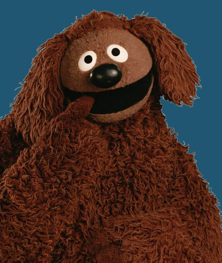 Muppets - Rowlf the dog